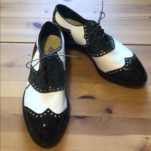 Vintage  FootJoy Golf Cleats Spikes Shoes size 9